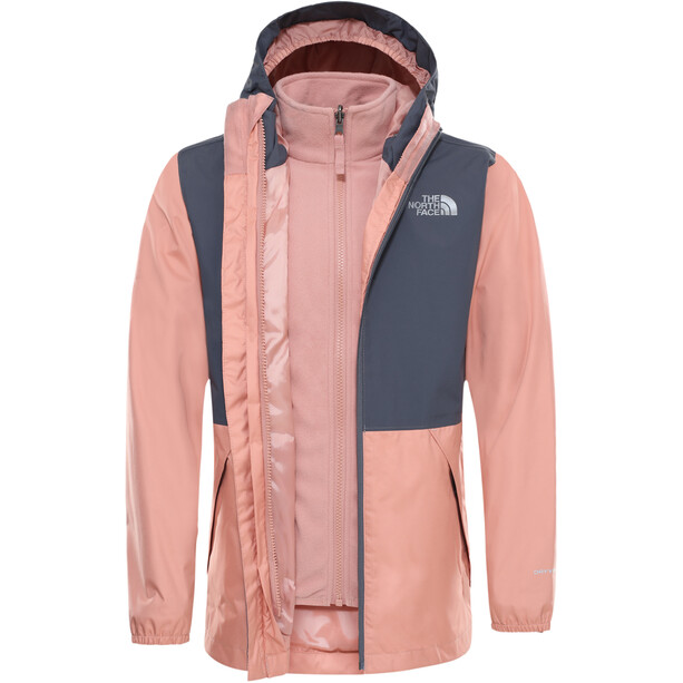 The North Face Elian Triclimate Jacke Jugend pink clay