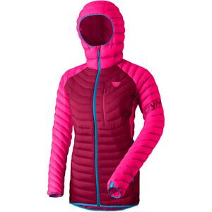 Dynafit Radical Daunen-Kapuzenjacke Damen pink/rot pink/rot