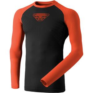 Dynafit Speed Dryarn Langarm T-Shirt Herren schwarz/orange schwarz/orange