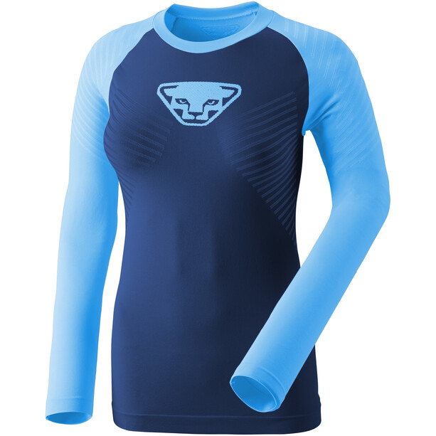 Dynafit Speed Dryarn Langarm T-Shirt Damen methyl blue