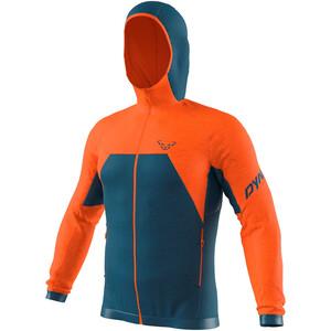 Dynafit Tour Wool Thermal Hoodie Herren petrol/orange petrol/orange