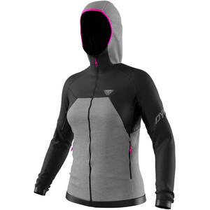 Dynafit Tour Wool Thermal Sweat À Capuche Femme, noir/gris noir/gris