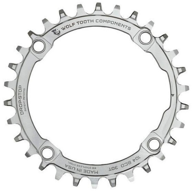 Wolf Tooth Kettenblatt Ø104mm BCD silber