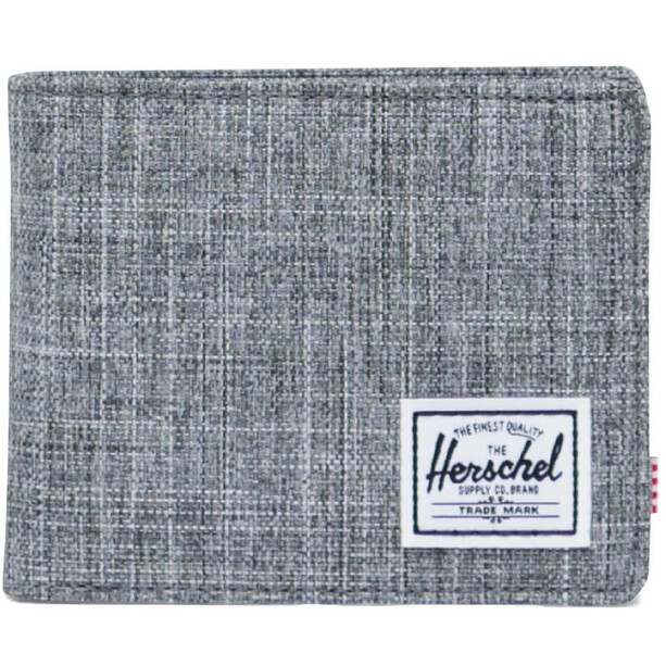 Herschel Roy Coin RFID Brieftasche raven crosshatch