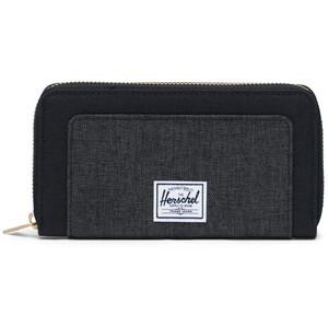 Herschel Thomas RFID Brieftasche black/black crosshatch black/black crosshatch