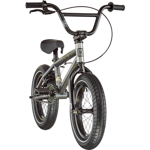 "Kink BMX Pump 14"" Adolescents, gris"