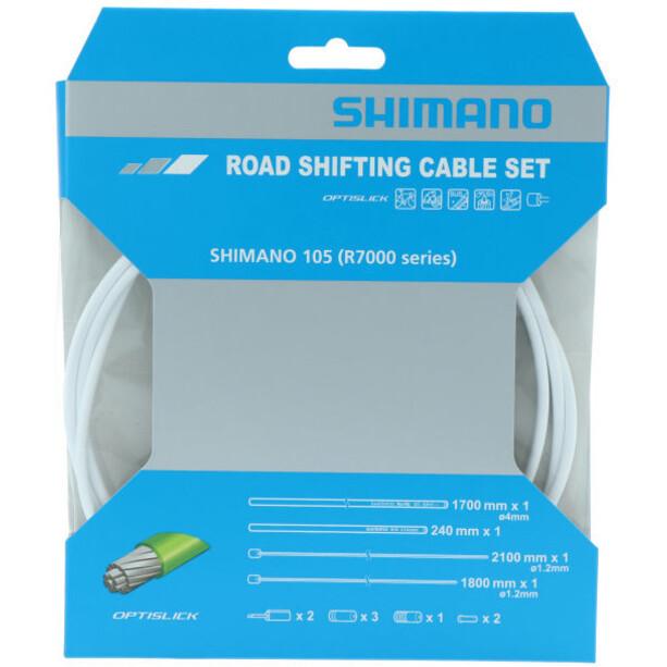 Shimano 105 R7000 Optislick Skiftkabelsæt