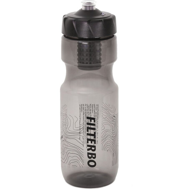 WOHO Filterbo Water Filter Bottle black