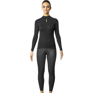 Mavic Cold Ride+ Langarm T-Shirt Damen black black