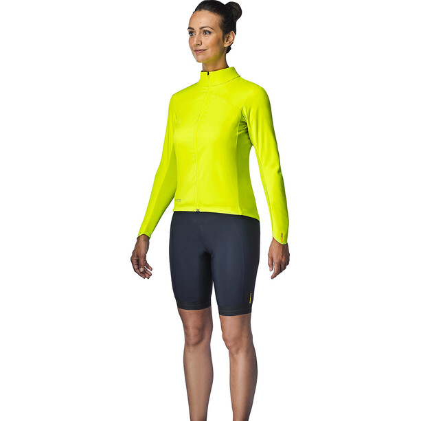 Mavic Mistral Jacke Damen safety yellow
