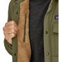 Patagonia Isthmus Gesteppte Hemdjacke Herren industrial green