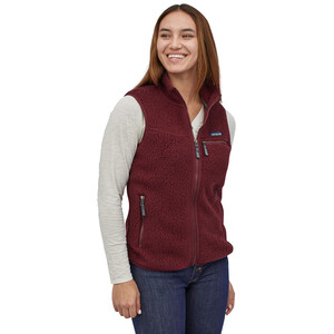 Patagonia Retro Pile Weste Damen chicory red chicory red