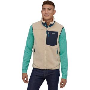 Patagonia Classic Retro-X Vest Men, beige/musta beige/musta