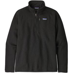 Patagonia Better Sweater 1/4 Zip Men, negro negro