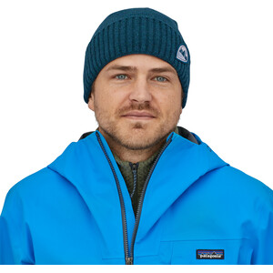 Patagonia Brodeo Beanie tube view/crater blue tube view/crater blue