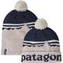 Patagonia Lightweight Powder Town Beanie fitz roy sunrise knit/phloxy purple
