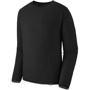 Patagonia Capilene Air Longsleeve Crew Shirt Heren, zwart zwart