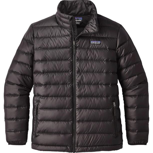 Patagonia Daunen Sweater Jacke Jungen schwarz