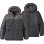 Patagonia Reversible Daunen Sweater Kapuzenjacke Jungen grau
