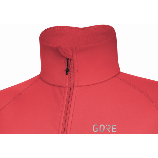 GORE WEAR C5 Thermo Trikot Damen hibiscus pink/chestnut red