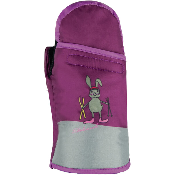 Roeckl Fex Handschuhe Kinder berry/grey