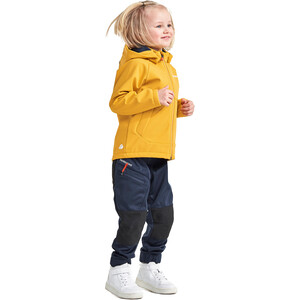 DIDRIKSONS Poggin 2 Softshell Jacke Kinder mellow yellow mellow yellow