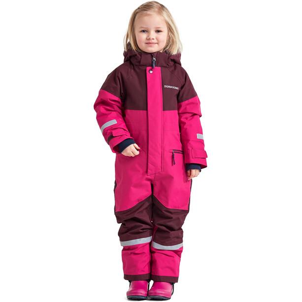 DIDRIKSONS Cornelius 2 Coverall Kinder pink