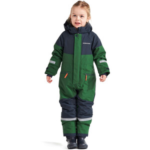DIDRIKSONS Cornelius 2 Coverall Kinder leaf green leaf green
