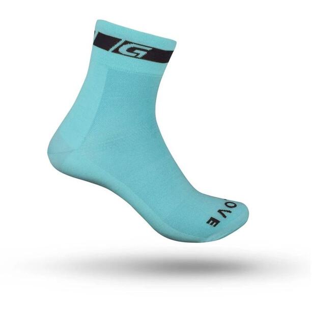 GripGrab Classic Regular Cut Socken blau