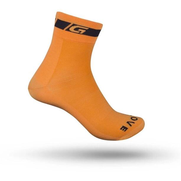 GripGrab Classic Regular Cut Socken orange
