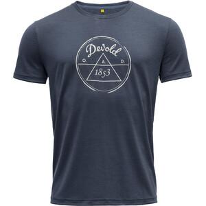 Devold 1853 T-Shirt Herren blau blau