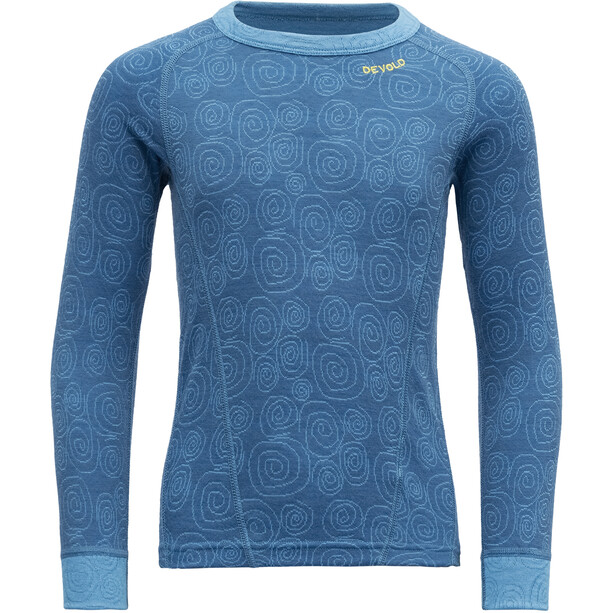 Devold Duo Active Shirt Kinder blau