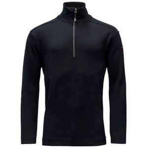Devold Blaatrøie Zip Neck Sweater deep marine deep marine