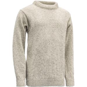 Devold Nansen Crew Neck Sweater grey melange grey melange