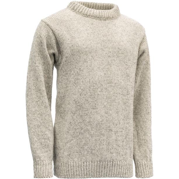 Devold Nansen Crew Neck Sweater grey melange