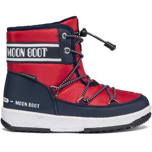 Moon Boot Mid WP 2 Stiefel Jungen blau/rot blau/rot