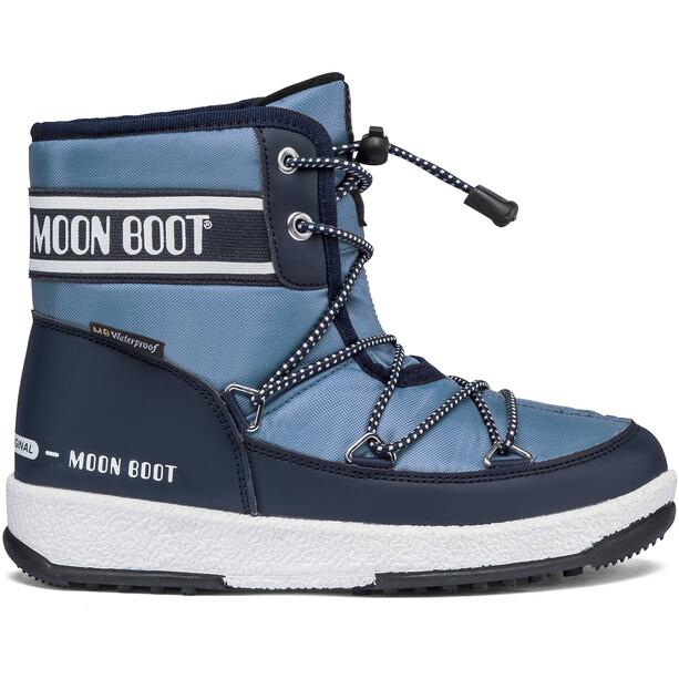 Moon Boot Mid WP 2 Stiefel Jungen blau