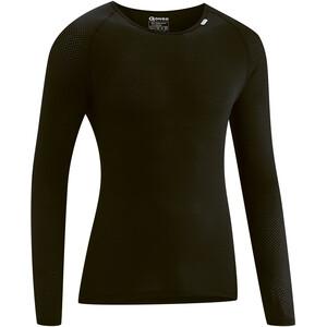Gonso Cuneo Langarm U-Shirt Herren black black