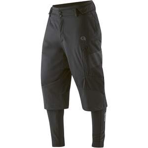 Gonso Sirac 3in1 Softshell Pants Pad Men black black