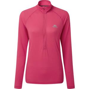 Mountain Equipment Solar Eclipse Zip T-Shirt Damen virtual pink virtual pink