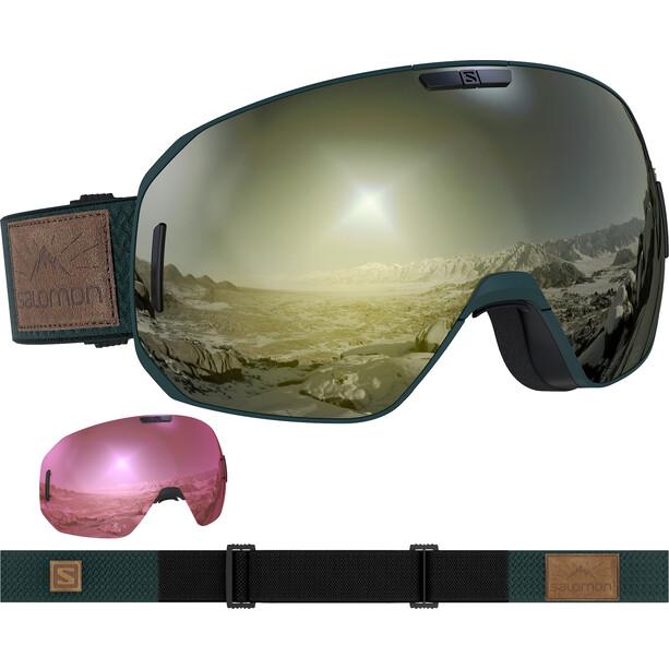 Salomon S/Max Sigma Goggles green gables/black gold