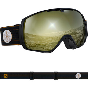 Salomon XT One Sigma Goggles café racer/black gold café racer/black gold
