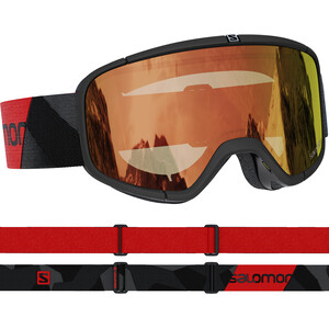 Salomon Four Seven Photo Goggles black/red/red black/red/red