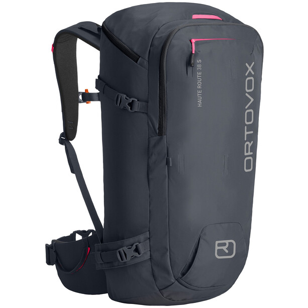 Ortovox Haute Route 38 S Ski Backpack black steel