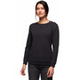 Black Diamond Basis Crew Sweatshirt Women black heather