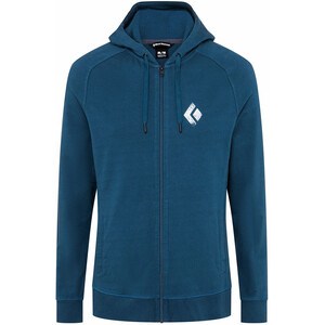 Black Diamond Chalked Up Hoody Men azurite azurite