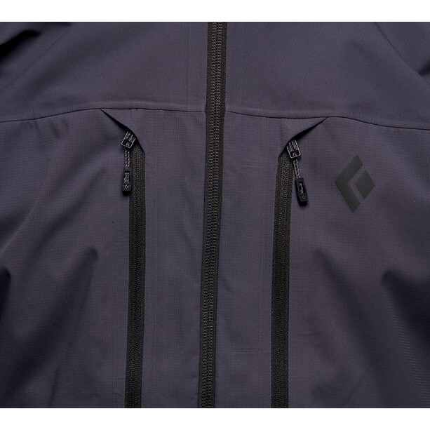Black Diamond Dawn Patrol Hybrid Shell Jacket Men carbon