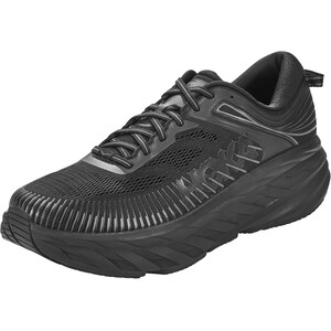 Hoka One One Bondi 7 Wide Running Shoes Men black/black black/black