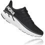 Hoka One One Clifton 7 Wide Running Shoes Men black/white