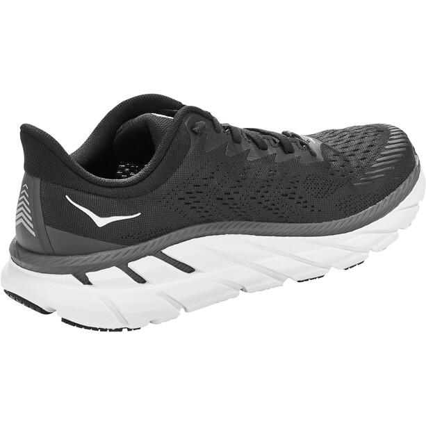 Hoka One One Clifton 7 Wide Running Shoes Women black/white